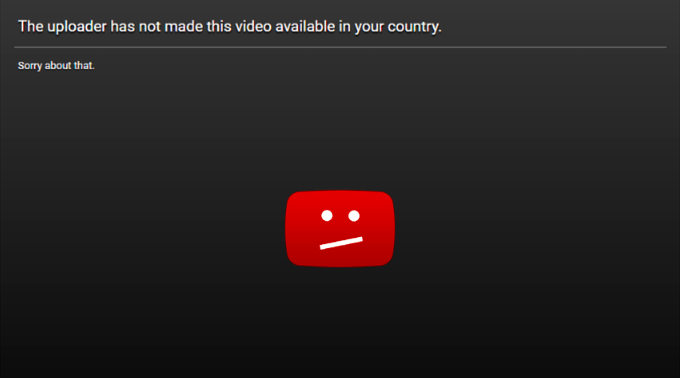 how to fix content not available in your country
