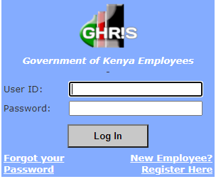GHRIS Login